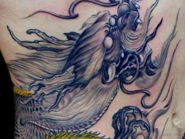 Dragon Rib Tattoo