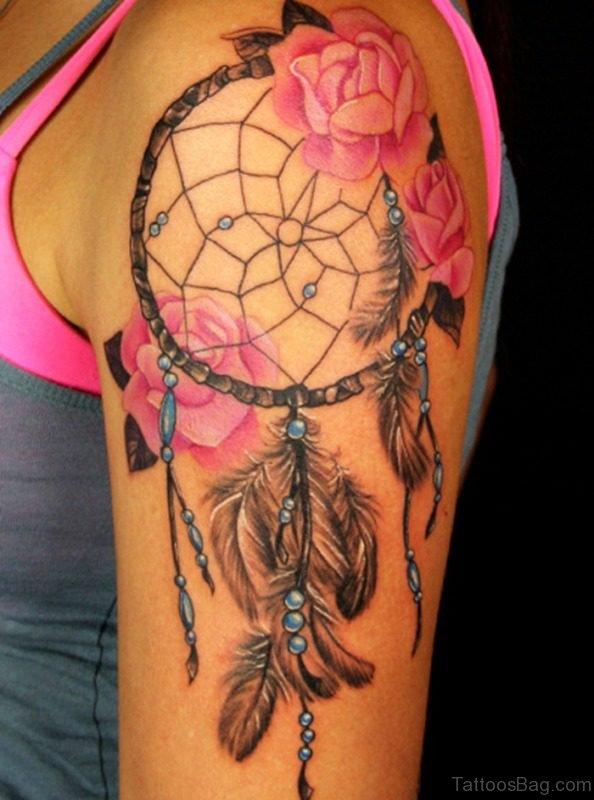 Dream Catcher Tattoo For Women