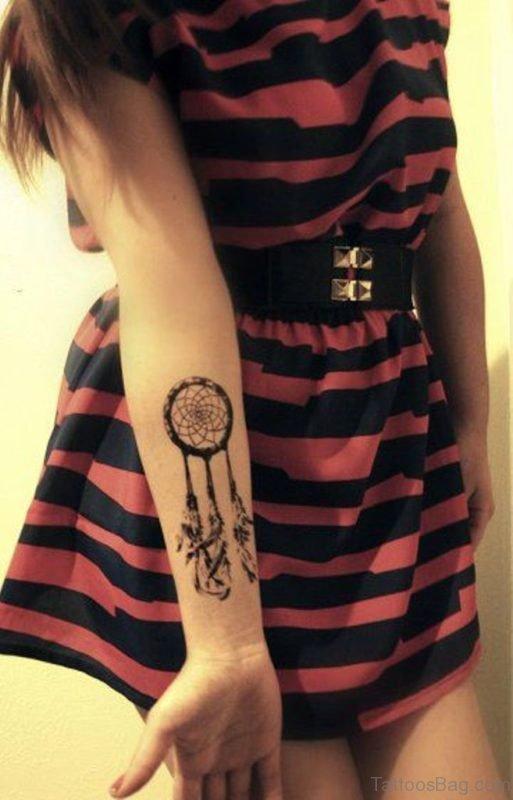 Dreamcatcher Tattoo For Girls