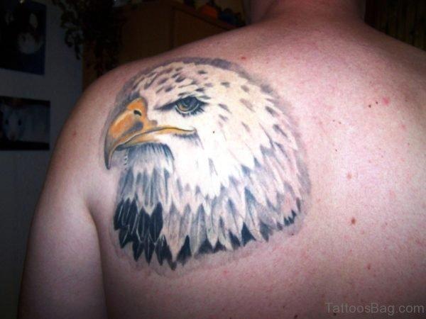 Eagle Blade Shoulder Tattoo