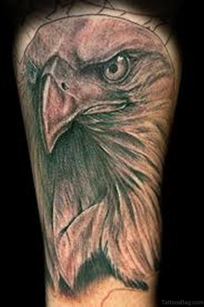 42 perfect eagle tattoos for leg. Black Bedroom Furniture Sets. Home Design Ideas