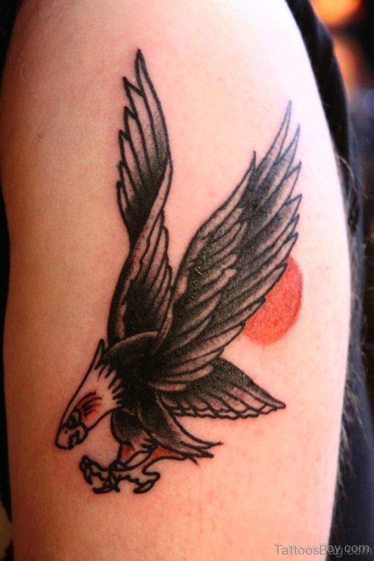 Eagle Tattoo Design On Shoulder