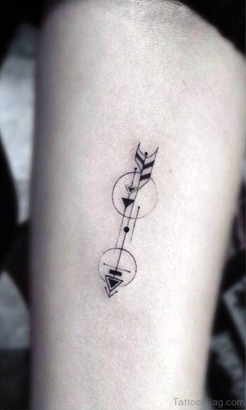 Elegant Arrow Tattoo