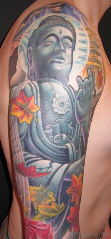 Elegant Buddha Tattoo