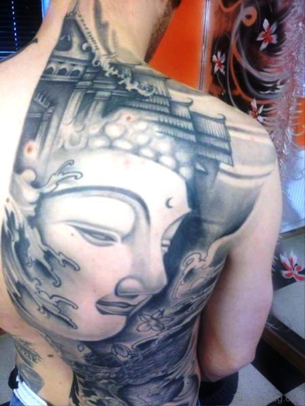 Elegant Buddha Tattoo Design 1