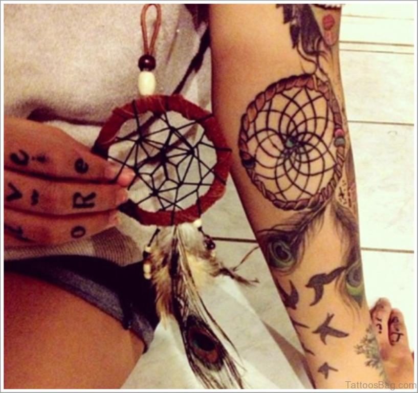 Значение татуировки ловец снов Символика тату