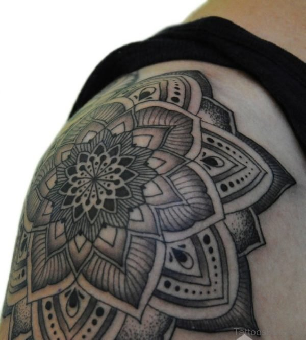Elegant Mandala Tattoo Design