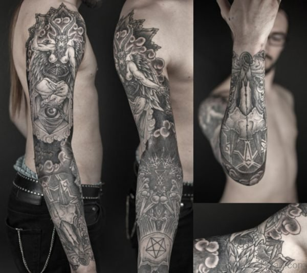 Elegant Mandala Tattoo Design