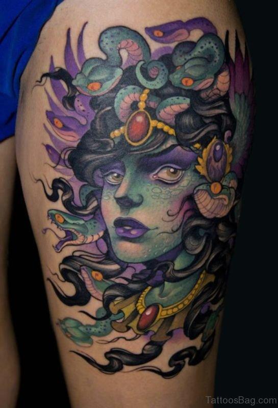 Elegant Medusa Tattoo
