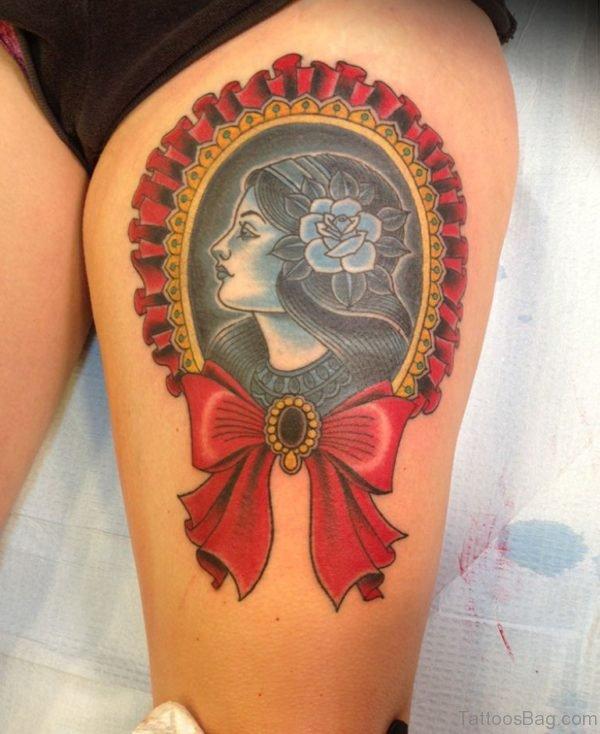 Elegant Portrait Tattoo