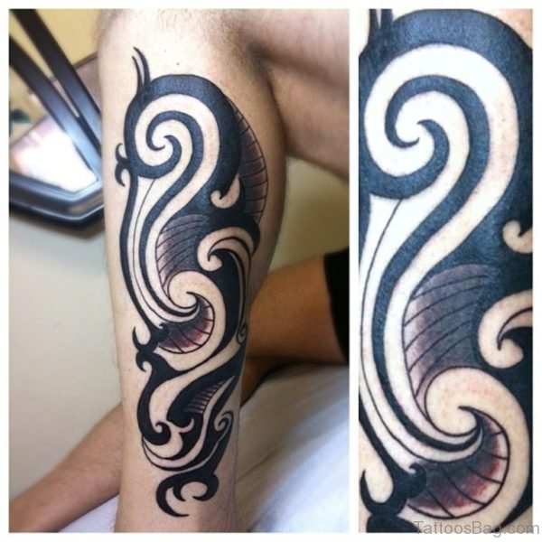 Elegant Tribal Tattoo