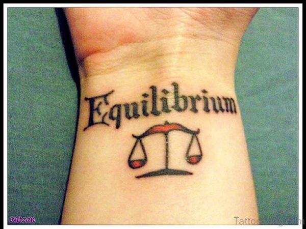 Equilibrium Wording Tattoo