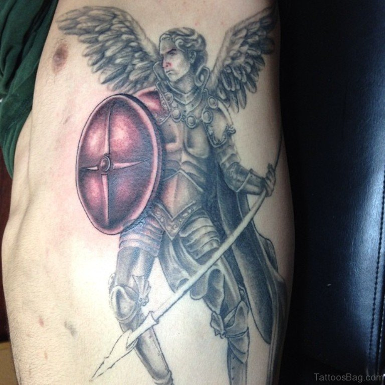 60 Wonderful Angel Tattoos On Rib