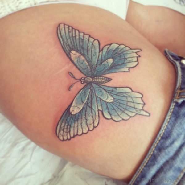 Excellent Butterfly Tattoo