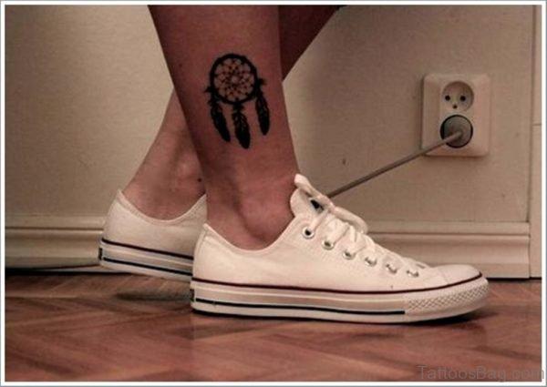 Excellent Dreamcatcher Tattoo