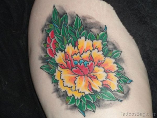 Excellent Flowers Tattoo