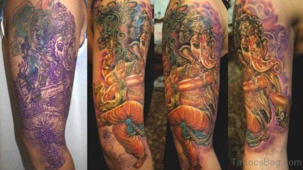 Excellent Ganesha Tattoo Designs