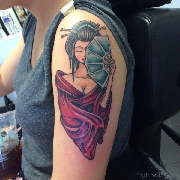 Excellent Geisha Tatto