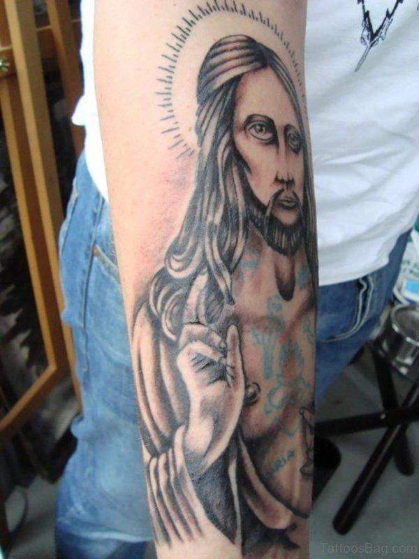 Excellent Jesus Tattoo