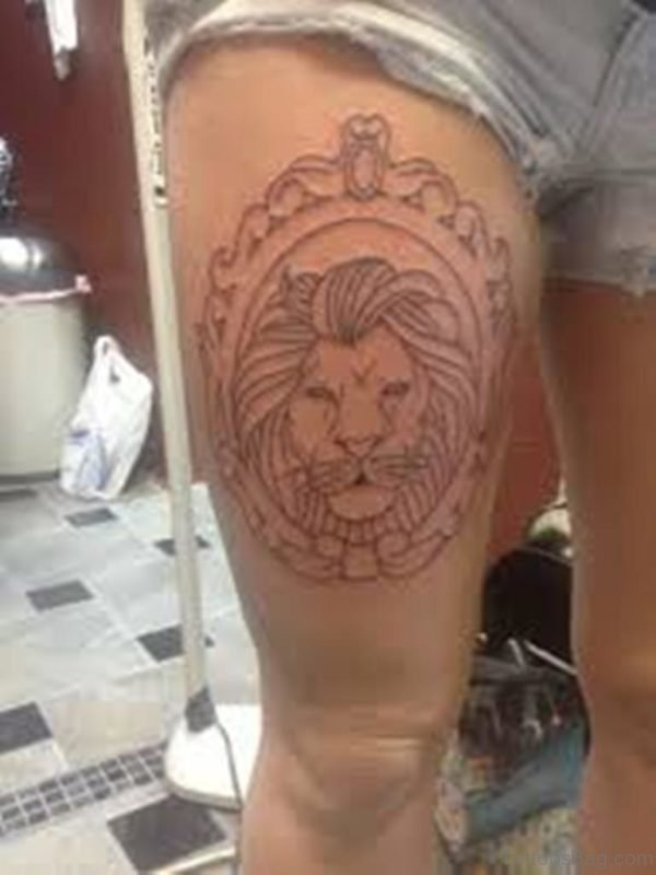 Excellent Lion Tattoo