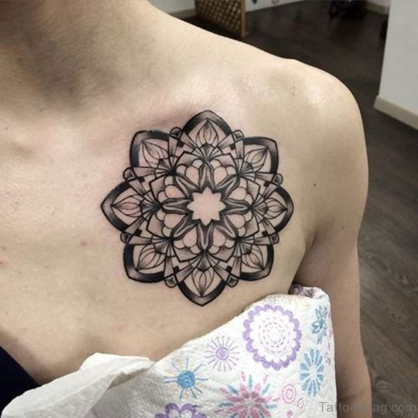 90 Outstanding Mandala Tattoos On Chest