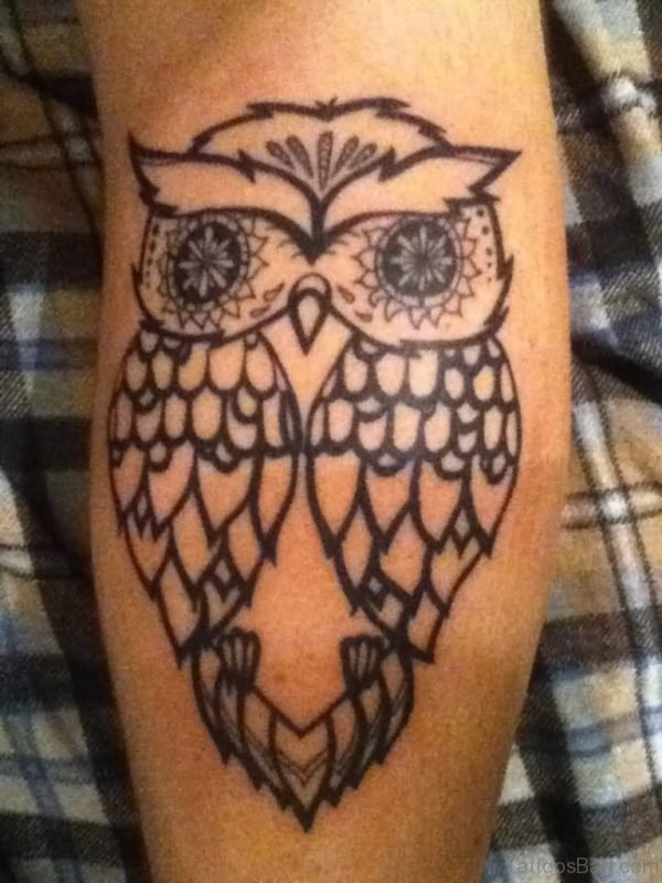 Excellent Owl Tattoo