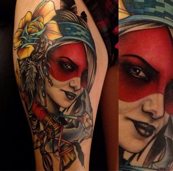 Excellent Portrait Tattoo
