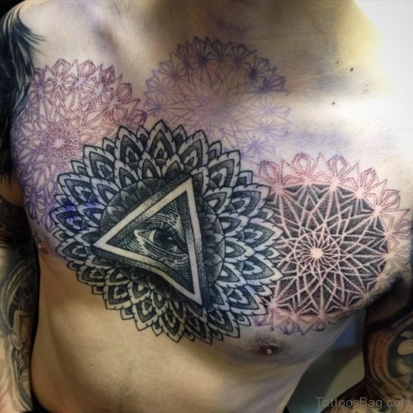 Eye And Mandala Tattoo