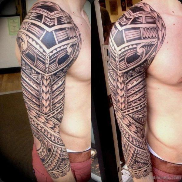 Fabulous Maori Tribal Tattoo