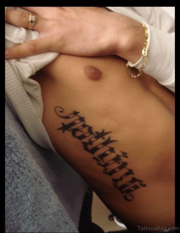 Fabulous Ambigram Tattoo Design