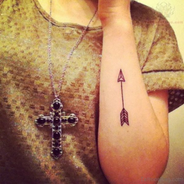 Fabulous Arrow Tattoo Design