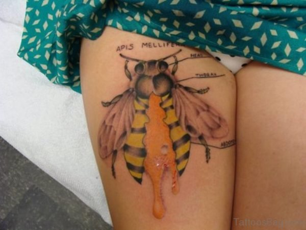 Fabulous Bee Tattoo