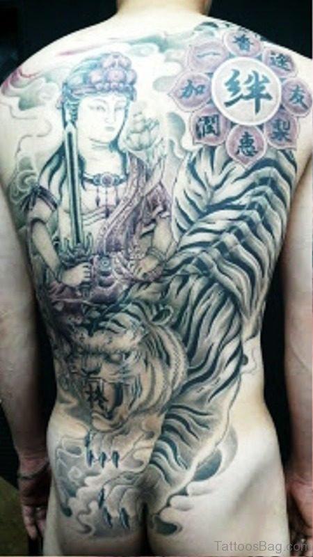 Fabulous Buddha Tattoo Design 1