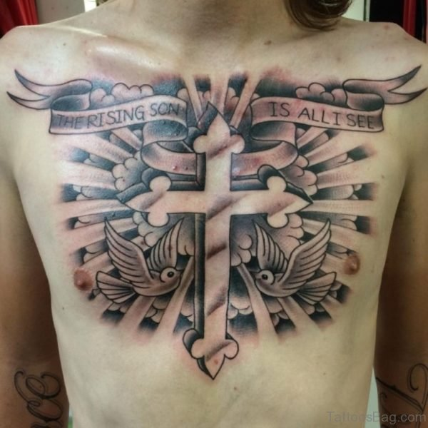 Fabulous Cross Tattoo