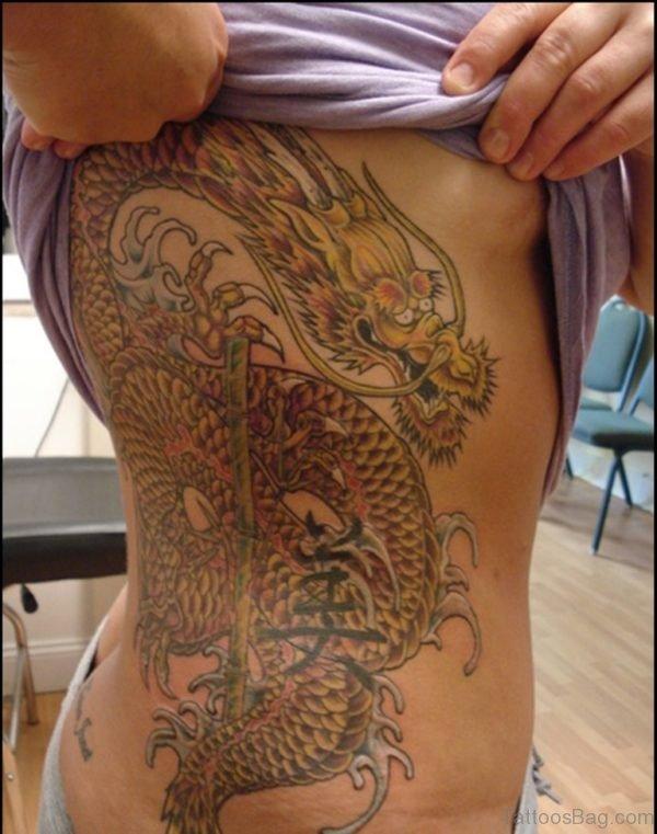 Fabulous Dragon Tattoo
