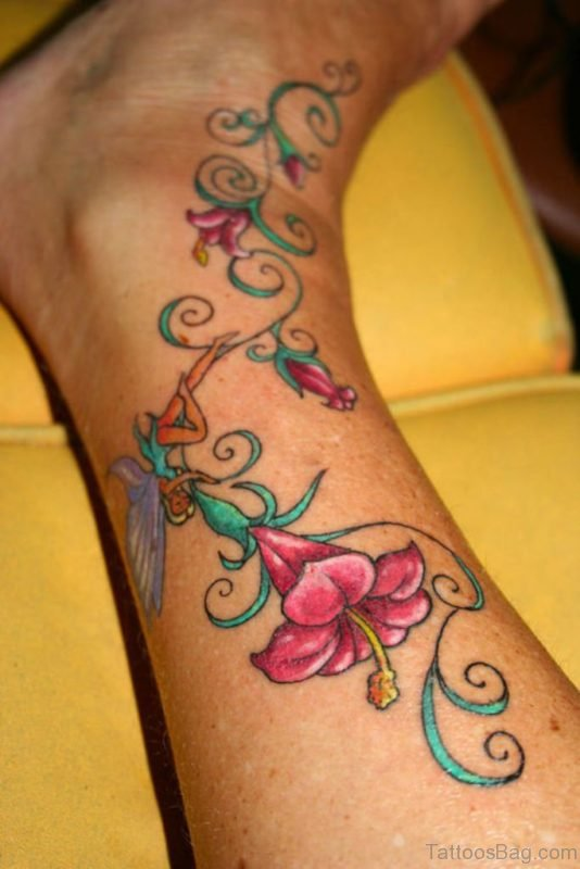 Fabulous Flowers Tattoo