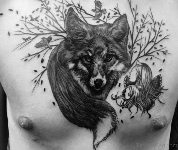 Fabulous Fox Tattoo