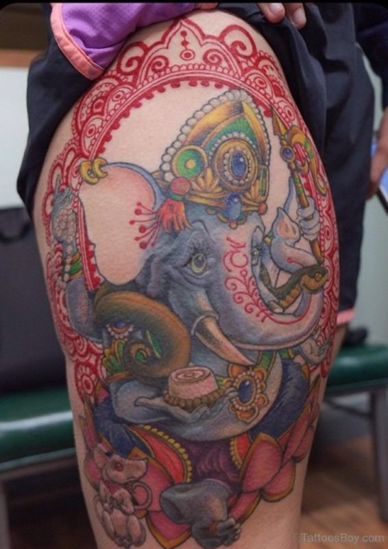 Fabulous Ganesha Tattoo