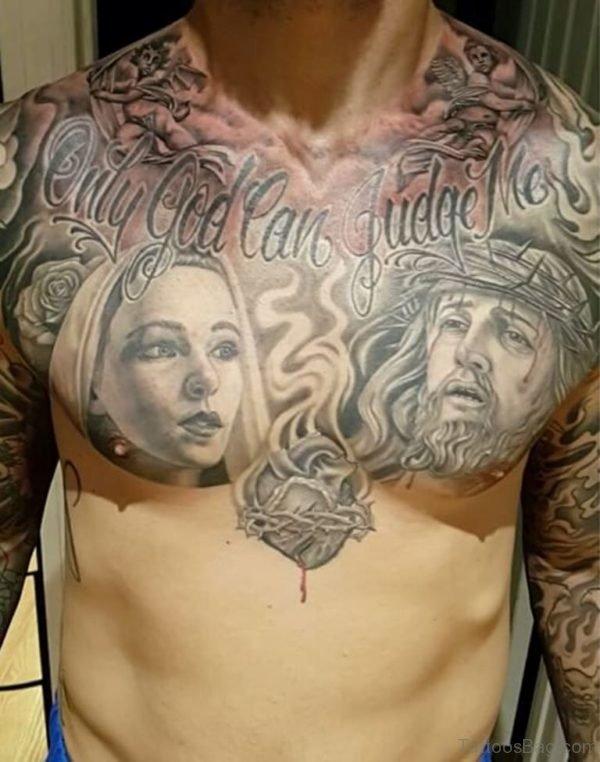 Fabulous Jesus Tattoo Design