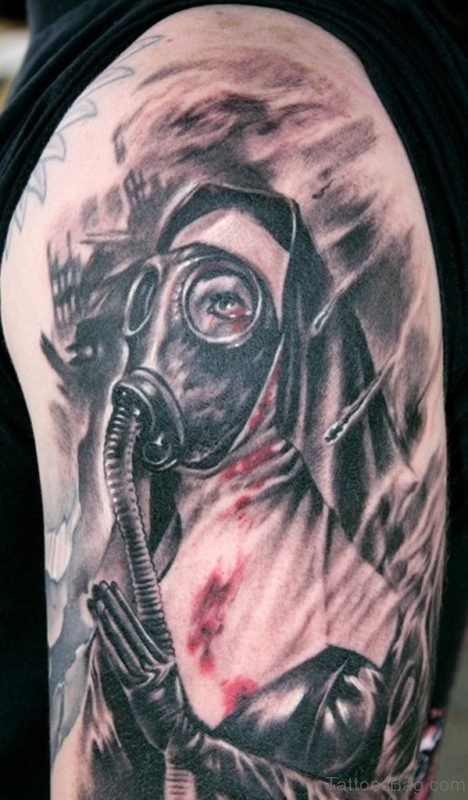 Fabulous Mask Tattoo