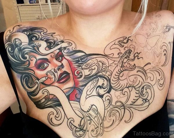 Fabulous Medusa Tattoo