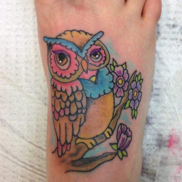 Fabulous Owl Tattoo Design