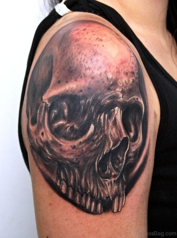 Fabulous Skull Tattoo