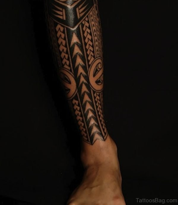 Fabulous Tribal Tattoo Design