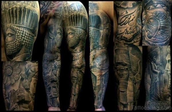 Fabulous Warrior Tattoo