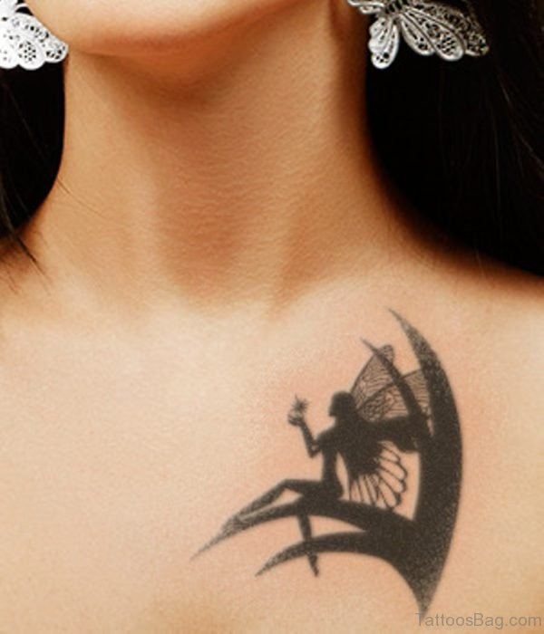 Fairy With Star Tattoo