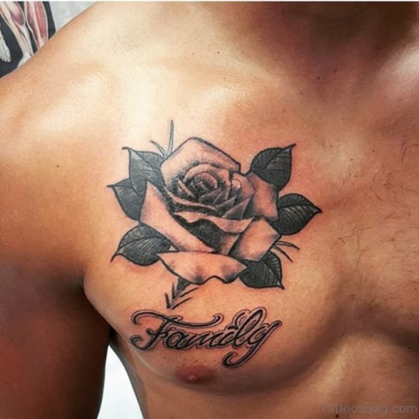 Family Rose Tattoo