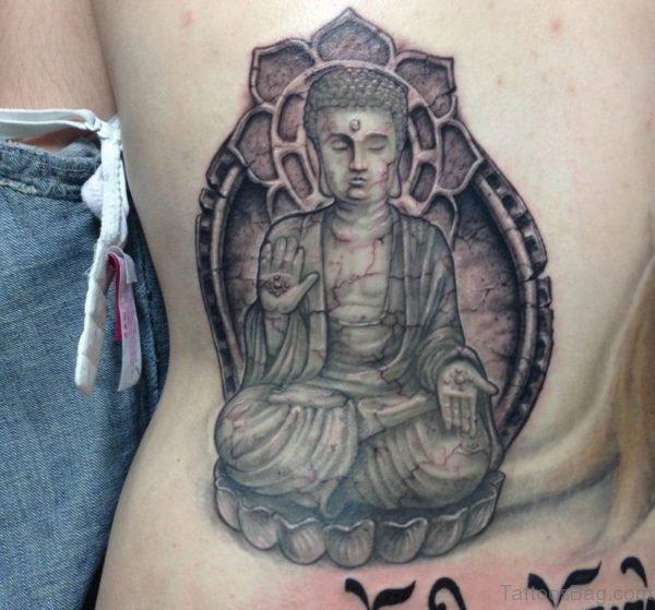 Fancy Buddha Tattoo
