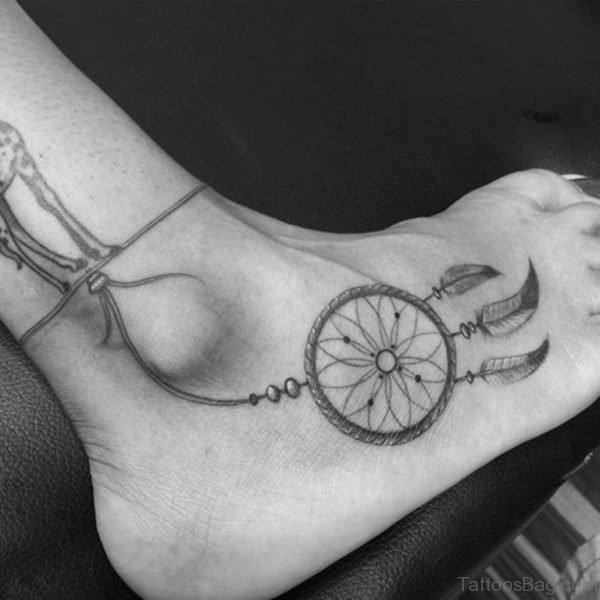 Fancy Dreamcatcher Tattoo
