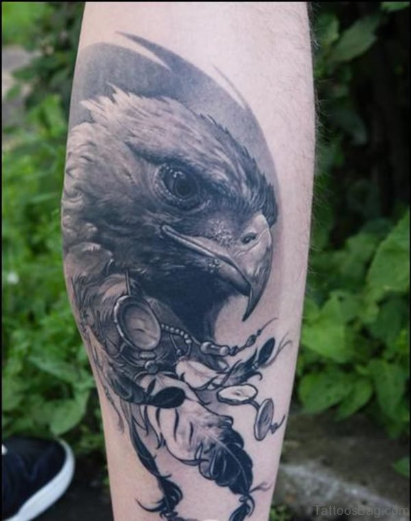 Fancy Eagle Tattoo